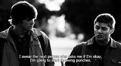 supernatural, quote, and dean winchester image