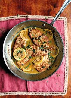 "Veal Piccata Recipe | Saveur Magazine (""Everyone loved it, including the kiddos."" ""Perfect."" ""As good as any restaurant veal piccata that I've ever had."" ""Quick and easy."" ""My new go-to recipe for piccata."" That's what folks are saying about this recipe.)"