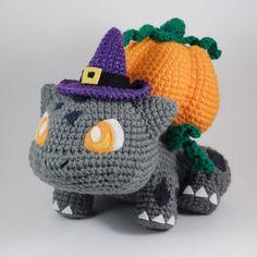 Halloween Crochet Patterns, Crochet Patterns For Beginners, Crochet Patterns Amigurumi, Amigurumi Doll, Pokemon Crochet Pattern, Crochet Geek, Crochet Crafts, Crochet Hooks, Crochet Ideas