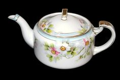Nippon Teapot  Hand Painted Nippon  Nippon China  Gold by CocoRaes, $40.00