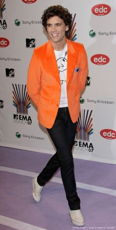 Mika @ MTV Europe Music Awards 2007 at Olympiahalle - Show Munich, Germany Nov 01 2007