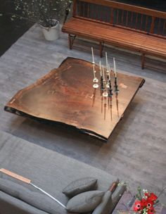 FURNITURE | WALNUT SLAB COFFEE TABLE | BDDW
