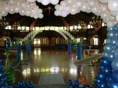 Under the sea prom decor