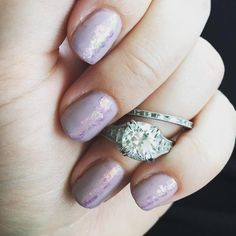 Stunning Diamond Waterfall Engagement Ring   Etsy Or Rose, Rose Gold, Etsy Vintage, French Antiques, Diamond Cuts, Wedding Bands, Gold Rings, Custom Design, Waterfall