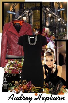 """""""Audrey Hepburn"""" by countrycousin ❤ liked on Polyvore"""