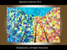 BlackFriday Sale Landscape Painting  Original by QiQiGallery, $275.00