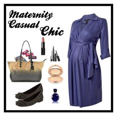 """""""Maternity Chic"""" by sasane ❤ liked on Polyvore featuring Dollhouse, NARS Cosmetics, Marc Jacobs, Charlotte Tilbury, Stuart Weitzman, Alviero Martini 1° Classe and Lacoste"""
