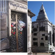 The last two shots I have to share from Recoleta Cemetery in Buenos Aires, Argentina. I liked the design of the mausoleum on the right. The burial chamber on the left is significant because it is the Duarte family tomb where María Eva Duarte de Perón is supposed to be buried. Of course she is more known by her nickname of Evita. It is worth reading the wiki entry on Eva Perón. Her life and death were both very fascinating.