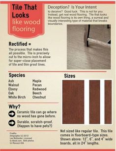 http://homerenovations.about.com/od/Tile/ss/Tile-That-Looks-Like-Wood-Flooring.htm