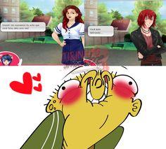 Aw, Castiel, até sua mãe já sabe, não precisa esconder seu amor atrás da sua imagem de bad boy ♥