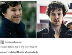 Sorry but I mean he is always attractive in different way but that episode on the right. DAAAMN! so hot.