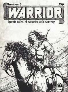 UK Fanzine Cover by Barry Smith.