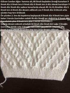 Help translate from Turkish - post by irisch (Ira) in the Knitting community in the Knitting category for women knitting. Knitting Paterns, Knitting Charts, Lace Knitting, Knitting Designs, Knit Patterns, Stitch Patterns, Gents Sweater, Baby Boy Sweater, Boys Sweaters