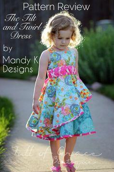 Tilt N Twirl Dress by Mandy K Designs