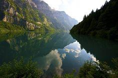 Klöntalersee Schweiz <3