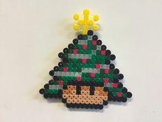 Christmas tree mushroom perler beads by Bjrnbr - Björn Börjesson