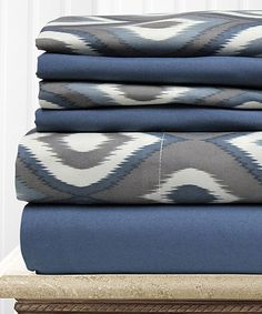 Another great find on #zulily! Abstract Texture Sheet Set by Colonial Home Textiles #zulilyfinds