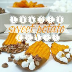 Loaded Sweet Potato Chips | My Cooking Spot - When Girl Meets Kitchen