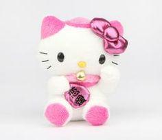"Hello Kitty 5"" Lucky Cat Plush: Pink"
