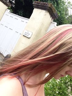 Pink Highlights, Natural Blondes, Hair Ideas, Blonde Hair, Dreadlocks, My Style, Hair Styles, Nature, Beauty