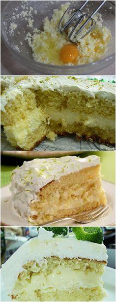 ESSE BOLO É FANTÁSTICO DEIXA TODOS COM ÁGUA NA BOCA..APRENDA E FAÇA HOJE MESMO!! VEJA AQUI>>>Bata as claras até ponto de neve, acrescentar as gemas, a #receita#bolo#torta#doce#sobremesa#aniversario#pudim#mousse#pave#Cheesecake#chocolate#confeitaria
