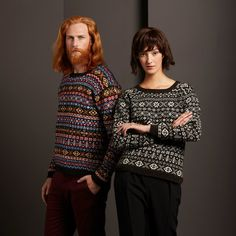 Authentic Fair Isle knitwear made in Fair Isle, Shetland. An exclusive collection of genuine Fair Isle jumpers, traditionally hand crafted by our own Artisans using Shetland wool. Fair Isle Knitting, Lace Knitting, Motif Fair Isle, Knitting Machine Patterns, Celtic Culture, Fair Isles, Shetland Wool, Knitting Projects, Christmas Sweaters
