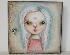 SOLD!! Tattered rose