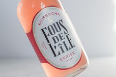 Fous de L'île Kombucha on Packaging of the World - Creative Package Design Gallery