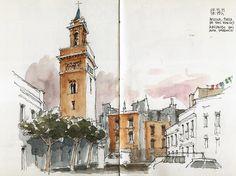 Sevilla, San Marcos tower