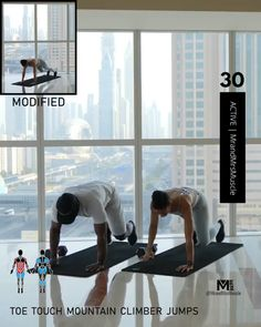 Upper Body Workout Routine, Full Body Hiit Workout, Hiit Workout At Home, Gym Workout Tips, At Home Workouts, Workout Partner, Fitness Workouts, Hiit Workout Videos, Fitness Workout For Women