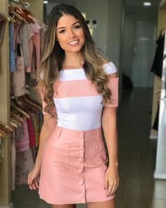 Outstanding Women Casual Outfits - Ani Exclusive in 2020 Girly Outfits, Skirt Outfits, Trendy Outfits, Cool Outfits, Urban Fashion, Girl Fashion, Fashion Dresses, Womens Fashion, Mode Hijab