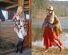 Modern cowboy outfit for women - photo#14