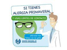 b9228b4ea0 Si usas #lentillas y tienes #alergia, altérnalas +tiempo con las #gafas