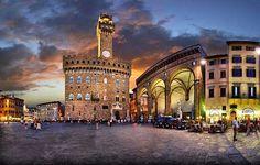 Mirando al mundo con sentimientos: La Piazza della Signoria (Plaza de la Señoría)  en...