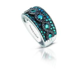 New from Le Vian-   Blueberry Diamonds™ with Blackberry Diamonds from Le Vian's Exotics Collection.