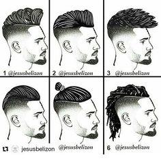 Corte de pelo para hombres nombres