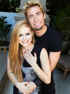 Avril Lavigne and Chad