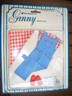 NEW! 1978 Ginny FARMER DUNGAREE'S OUTFIT Clothing - NEVER OPENED!! | Dolls & Bears, Dolls, By Brand, Company, Character | eBay!