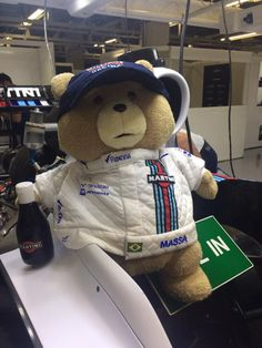 Ted appears in the Williams garage.