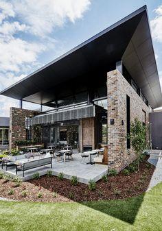 Junction Moama - Studio Nine Architects Architects, Mansions, Studio, House Styles, Outdoor Decor, Solomon, Google Search, Street, Home Decor