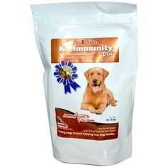 K9 Immunity Plus, For Dogs: Advanced Immune Support. My dog never turns her nose up at this! Great product at a great price. My dog gives this a paws up. In remission from Lymphoma. This is helping to keep her immune system strong.