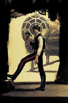 Star Wars: Han Solo #5 by Kamome Shirahama *