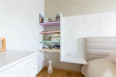 Mobilă Dormitor Simplicity - La Comandă - Fabrică București Floating Nightstand, Cabinet, Bedroom, Storage, Modern, Table, Furniture, Home Decor, Floating Headboard