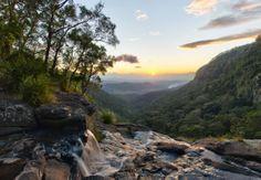 The Beautiful Moran's Falls via www.oreillys.com.au #goldcoastrainforest #lamingtonnationalpark #thegreatoutdoors #wanderlust