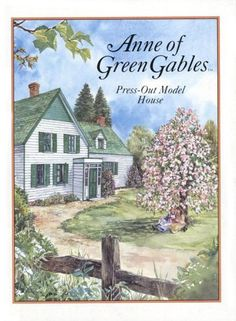 Anne Of Green Gables Press-Out Model House (Press Out Activity Book) by L.M. Montgomery