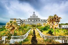 2014 entstand dieses Foto des verlassenen Royal Hotels auf der japanischen...