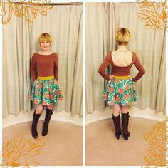 Melanie's Nettie Bodysuit  ditsy-tulip.com