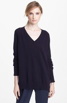 Vince Silk Back Raglan Sweater | Nordstrom