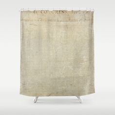 United States Declaration of Independence Shower Curtain by artmasters