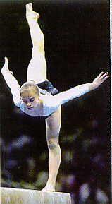 Lilia Podkopayeva - Ukraine. 1996 Olympic champion AA